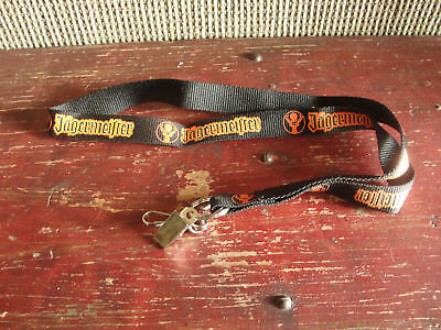 Jagermeister neck style key chain, document holder