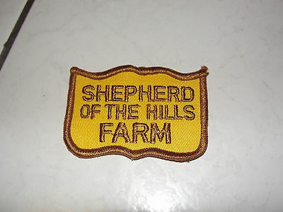 Shepherd Of The Hills Farm ,old Type Travel Souvenir,collectible Patch