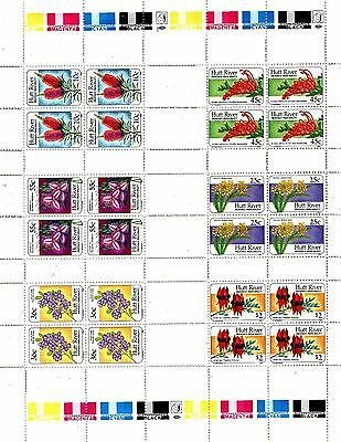A Full Sheet Of Stamps From Australia Hutt River Province Principality 1990.,,,.