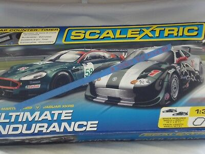 Scalextric Ultimate Endurance Set C1200 (Incomplete)