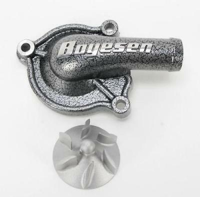 Boyesen Water Pump Cover Silver #WPC-02 Honda CR250R 1998-2001