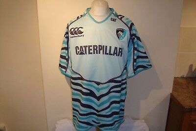 Leicester Tigers Rugby Union Away Shirt XXL Mens Canterbury