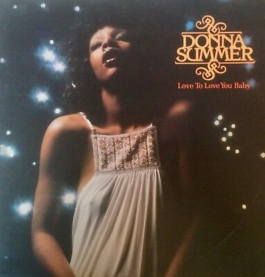 Donna Summer Love To Love You Baby 1975 Gto Press Lp Record Vinyl Album