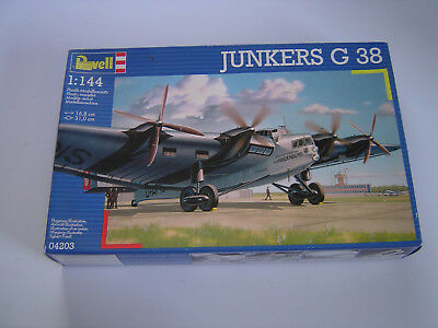 revell 1 144 german junkers g38 transport 04021 cad picclick ca. Black Bedroom Furniture Sets. Home Design Ideas