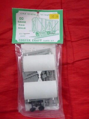 Cooper Craft Oo Gauge Plastic Kit - Gwr V4 Mink Van - 1008 - New