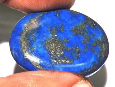 35.50 cts 100% Natural Untreated Quality Blue Lapis Lazuli Gemstone #tlp301
