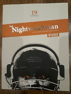 The Nightwatchman Issue 19, Good Condition, Test Match Special edition