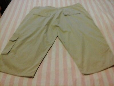 New Mens Southbay beige knee length shorts size 50R (Premier Man)