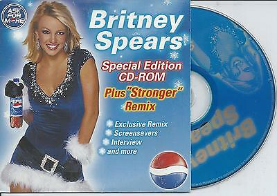 BRITNEY SPEARS - Ask for more Promo CD SINGLE Enhanced 2001 CARDSLEEVE RARE!