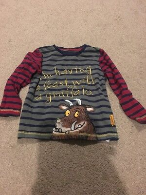 Boys The Gruffalo Top Age 2-3 Years