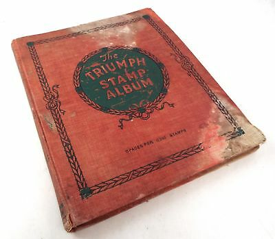 Antique Collection of Various World Countries Postage STAMPS In ALBUM - B32
