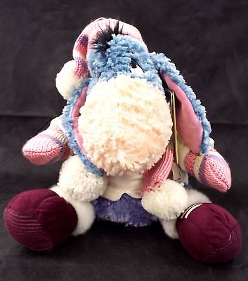 DISNEY Limited Edition Eeyore Pink Winter Outfit 2009 No. 1836 of 4000 - M05