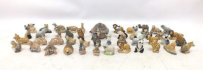 WADE Collection of 45 WHIMSIES Animal Figurines/Ornaments - G13