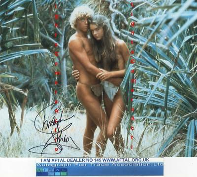 Christopher Atkins signed photograph, The Blue Lagoon AFTAL