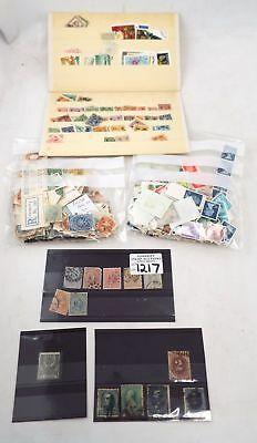 Collection of Approximately 100 x Vintage World Postage STAMPS  - W24