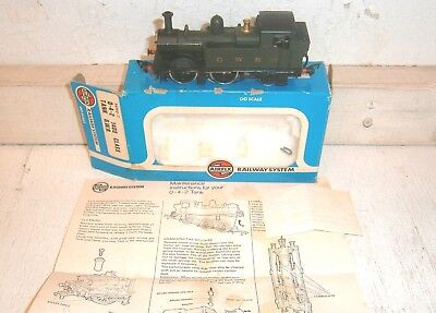 Vintage Airfix (Hong Kong) OO/HO Scale 0-4-2 GWR Tank Locomotive - AS IS, OB
