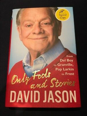 David Jason Signed Book  **no Reserve!!** Only Fools And Stories New