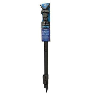 "Carbon Express 23""-62"" Telescoping Shooting Stick Black With Wrist Strap, 20842"