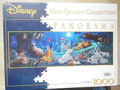 disneys panorama jigsaw puzzle - 1000 pieces - new and sealed