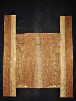 Guitar Luthier Tonewood CHECHEN CARIBBEAN ROSEWOOD acoustic Backs Sides SET