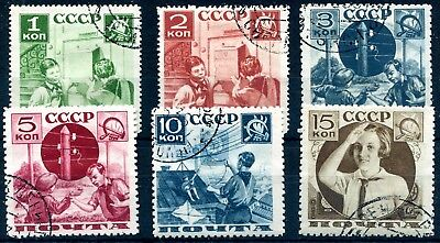 1936 - Russia - Pioneers Set Of 6, Used