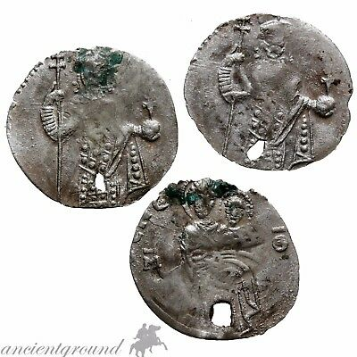 Uncertain Early Medieval Thin Hammered Silver Coins