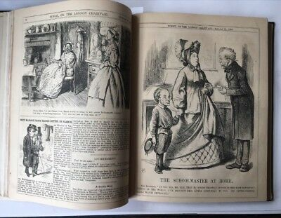 Abe Lincoln Murder & Confederacy! HOW London saw America. Punch cartoons 1865!