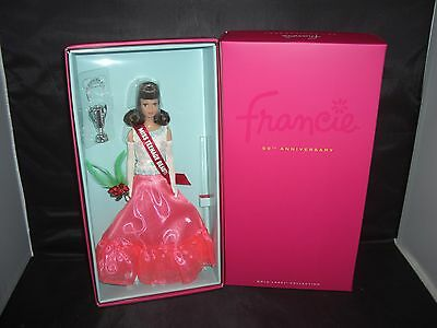 Barbie 2016 Francie 50th Anniversary-Gold Label
