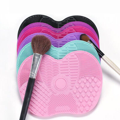 Silicon Makeup Brush Cleaner Washes Cleaning Brushes Scrubber Sucker Mats Tools
