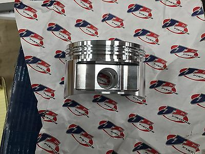 New  JE pistons & rings 350 Chevy SBC