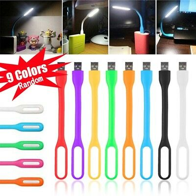 Flexible USB LED Light Mini Lamp For Computer Keyboard Reading Notebook Laptop