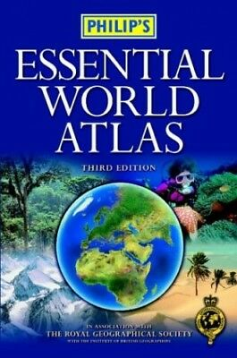 Philip's Compact World Atlas Paperback Book The Cheap Fast Free Post