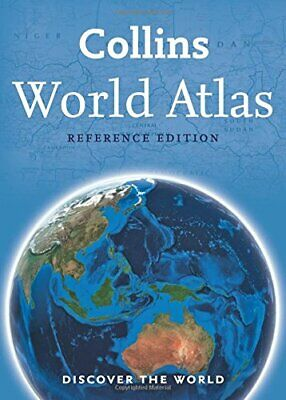 Collins World Atlas: Reference Edition by Collins Maps Book The Cheap Fast Free