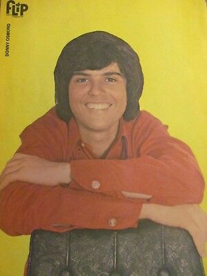 Donny Osmond, Full Page Vintage Pinup, Osmonds Brothers