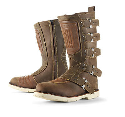 Icon 1000 Elsinore Leather Boots Brown 13 US