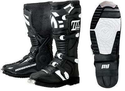 Moose Racing Youth Boys M1.2 MX Boots Black 4 US