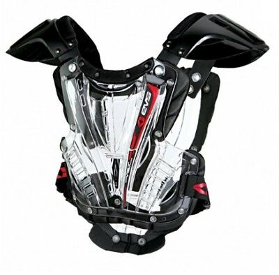 EVS YOUTH MX ATV Vex Chest Protector Clear Youth S