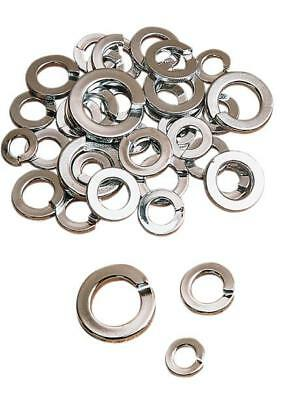DS Chrome Motorcycle Lock Washer Kit