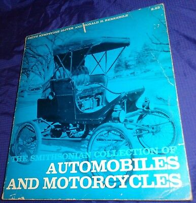 RF2469 The Smithsonian Collection Of Automobiles & Motorcycles 1967