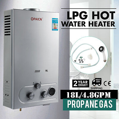 Propane Gas Tankless Hot Water Heater Whole House 5GPM LPG