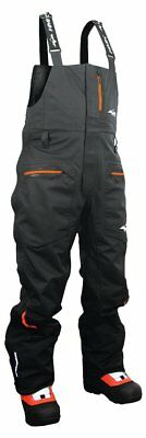 HMK Mens Cascade Waterproof Windproof Bib Snow Pants with Adjustable Suspenders