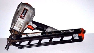 Paslode PowerMaster Plus F350S Pneumatic Air Framing Nailer Angle Nail Gun