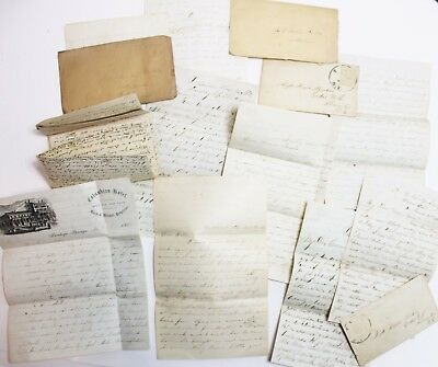 Original Group Of 1850s-1860s Letters