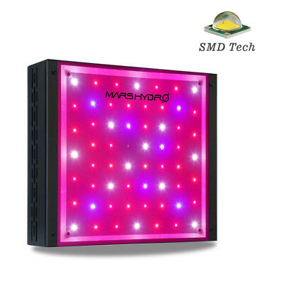 Mars Hydro Eco 300W Full Spectrum LED Grow Light Indoor Plants Veg Flower Lamp