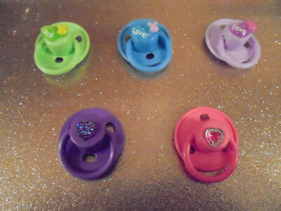 💗 Pick X 1 💗 Putty Dummy Pacifier Reborn Baby Doll Alternative To A Magnet