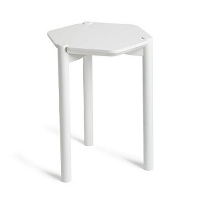 Umbra - Hexa Table d'Appoint [320310-660] [Blanc] [49.0 x 37.0 x 33.0] NEUF