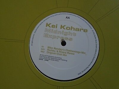 "KEI KOHARA ~ Midnight Express ~ 12"" Single"