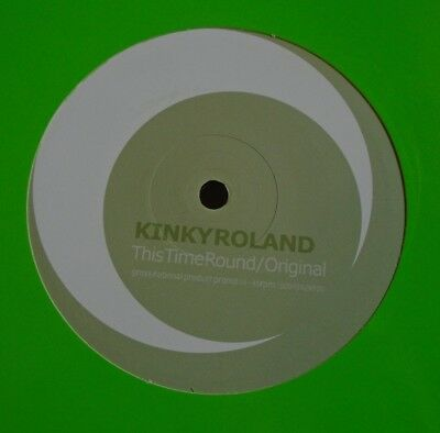 "KINKY ROLAND ~ This Time Round ~ 12"" Single"