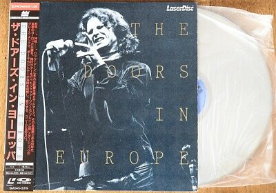 The Doors - Live In Europe - Laserdisc Import Japon Ntsc