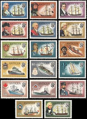 Antigua #241-257 set MNH VF